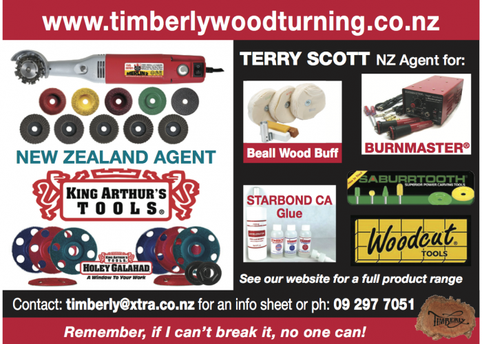 Sponsor - Timberly Woodturning