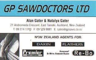 Sponsor - GP Sawdoctors