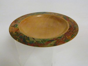 Marbled Platter - Kauri -  Carole Knowles