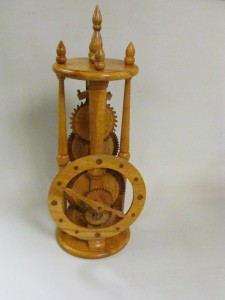 Wooden Clock - Bruce Richards