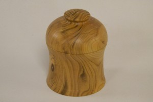 Lidded Box - Cherry - Colin Wise