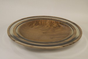 Bowl - Walnut/Resin - Graham Goodwin