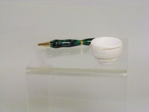 Acrylic Pen and Corian Bowl - John White